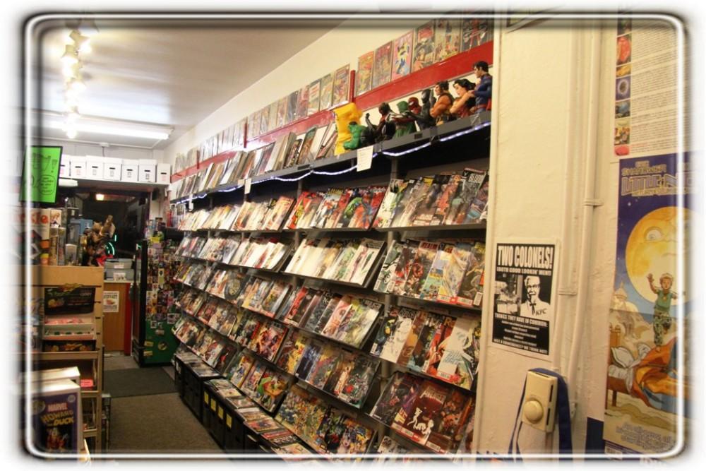 Uncle Sven\'s Comic Shoppe - Source Comics & Games