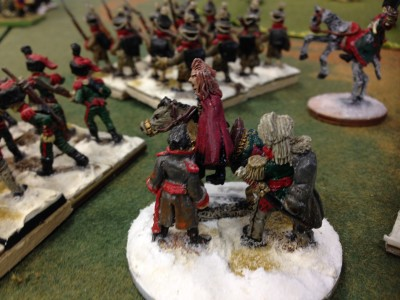 Prince Vlad arrives with the Russian assault force