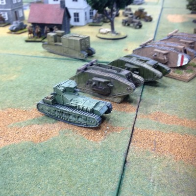 "Anglicans scrape up some ""tanks"" to screen Tewksbury"