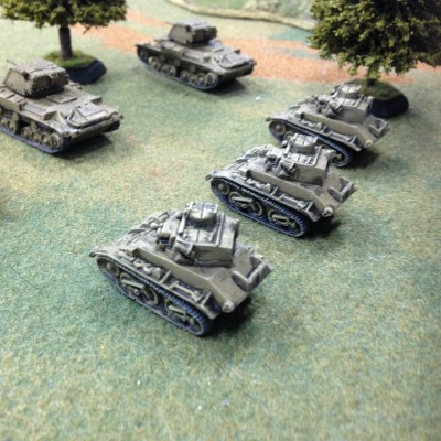 Royalist Tanks press on to Tewksbury