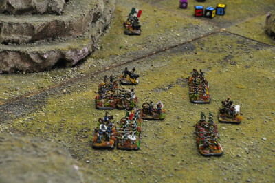 US Army attacks Santa Anna on the right flank