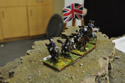 The last of the British horse after the great charge
