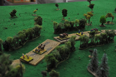 British column of the other game played in 15mm