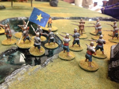 Belgian Askaris deploy