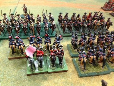 The Cunning Plan...French Guard Horse on the Charge ...again...cannons oh my cannons...they loose