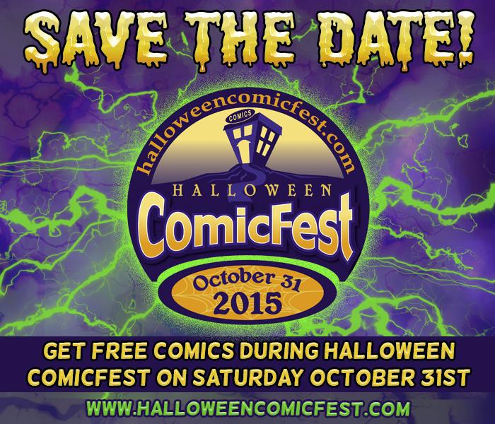 Halloween ComicFest - Source Comics & Games
