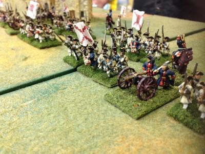 Spanish Forward! to the guns!