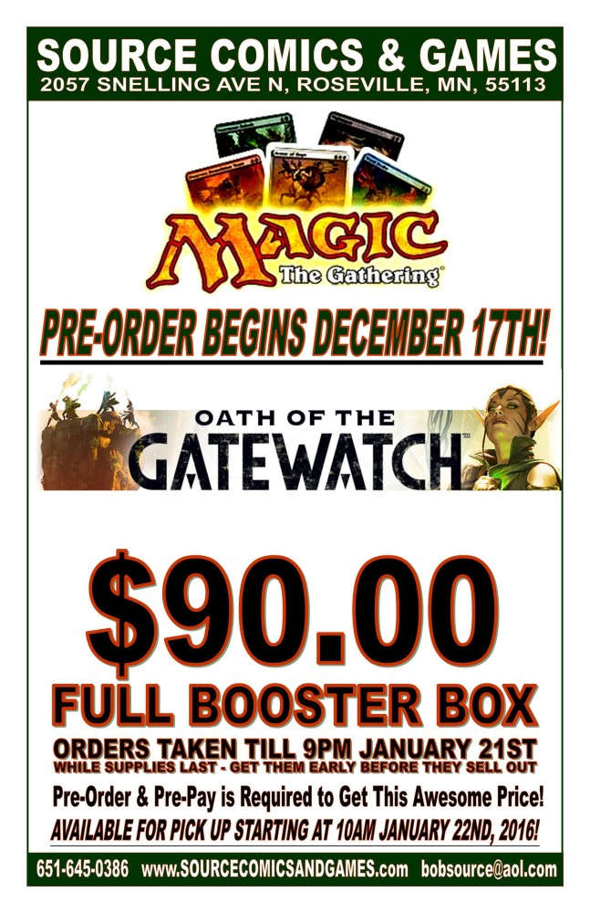 Magic -OATH OF TH E GATEWATCH Poster