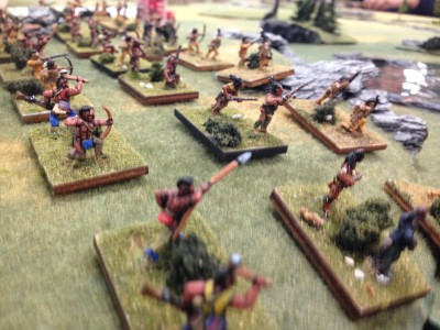 Iroquois allied to the British...this time they will be on the winning side .... right?