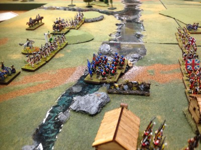 Highland attack column or are they just trying to get across the river quick??