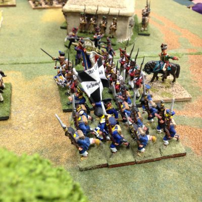 Prussian Line very steady troops