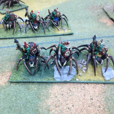Goblin Heavy Cav...or spiders/mutant drider..things