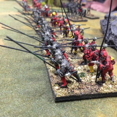 Undead Pike Mercs hold the line....what do you pay Undead PIke Mercs.....