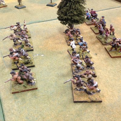 the New Maryvania Militia will try and hold the flank..it could be worse, they could of been facing Indians ....