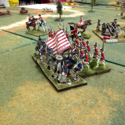 The British Charge...the French route in a huge grand melee....