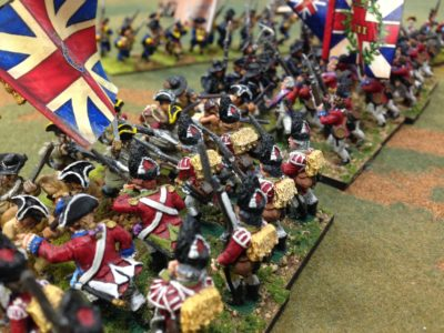 a Traditional Assault of the Grenadiers