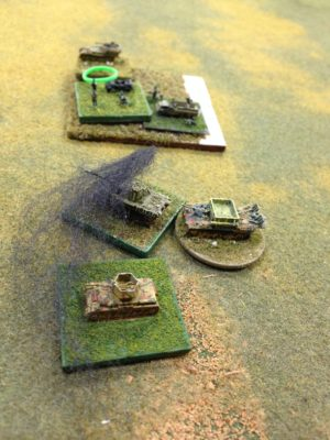 First blood to the Soviets.  German Repair assets at work to bring the Panther back on line.