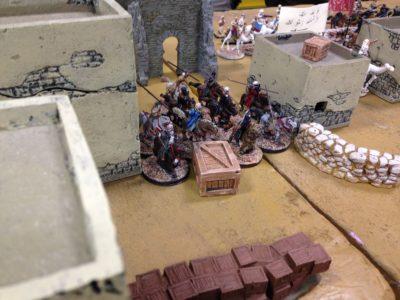 Berber Cavalry breaks in