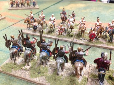 Heavy Horse Smackdown...just took too long the Romans fought hard!