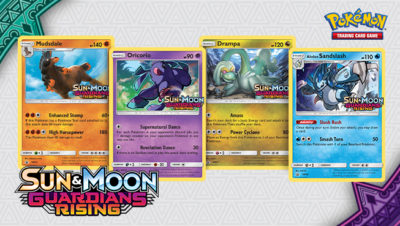 Pokemon Pre-Release Sun & Moon Guardians Rising